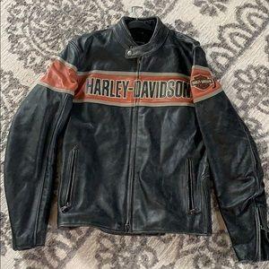 Men's Harley Davidson Victory Lane Leather Jacket
